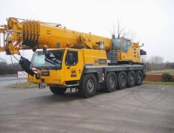 Автокран 100 тонн  liebherr