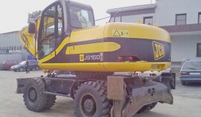 Экскаватор колесный JCB JS160